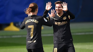 Griezmann Double Hands Barcelona Comeback Win Against Villarreal