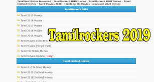 Tamilrockers News Website