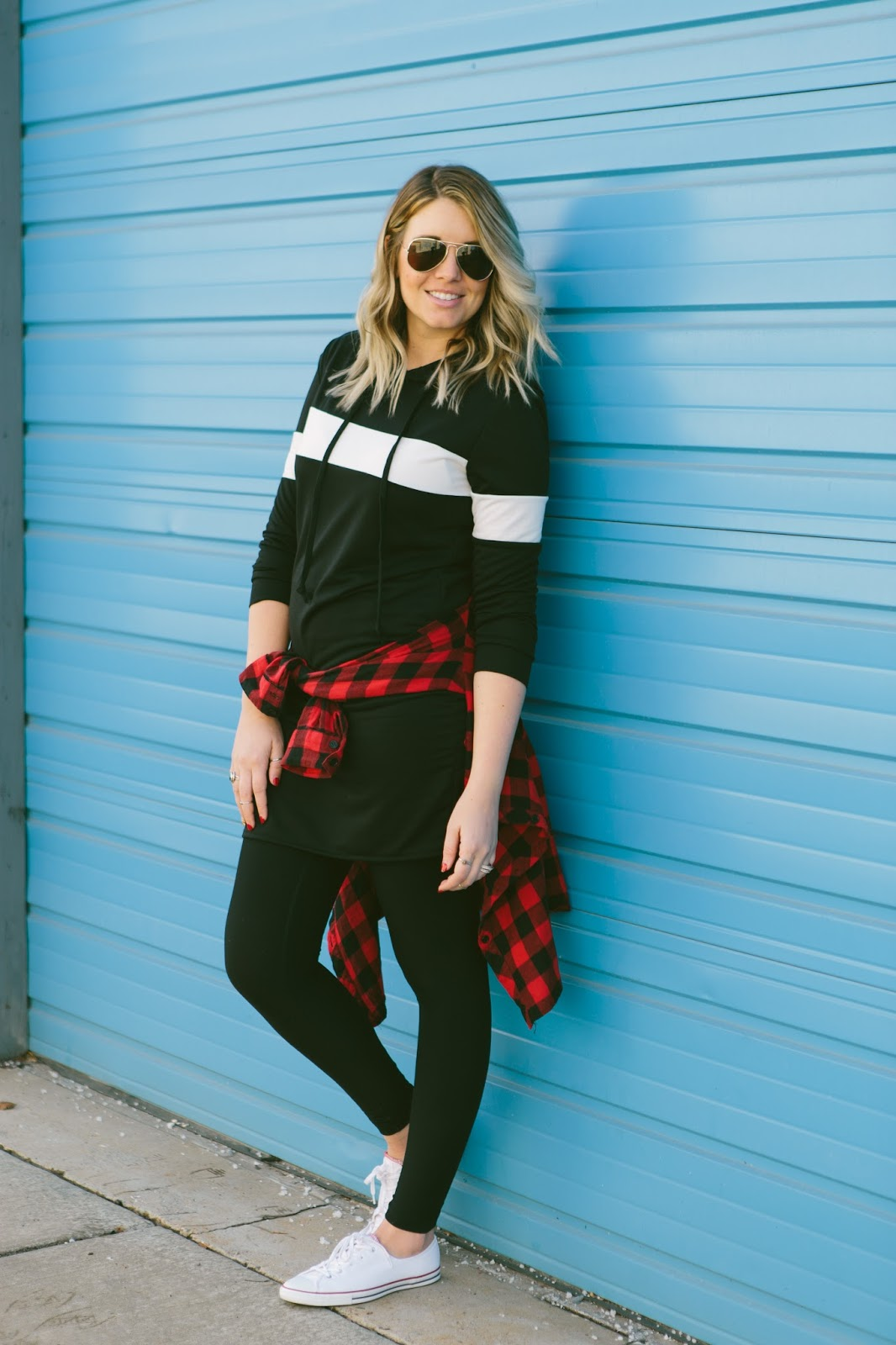 Striped Hoodie Dress,Choies, Utah Fashion Blogger