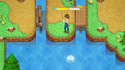 How to Fishing in Harvest Moon: Light of Hope