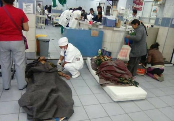 Resultado de imagen para hospitales sin medicamentos bolivia
