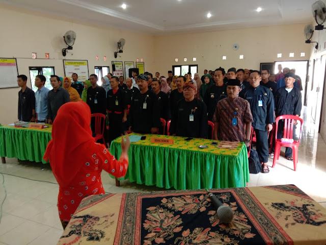 Kodim Karanganyar - Kapten Bambang Hadiri Undangan Musrenbangcam Mojogedang