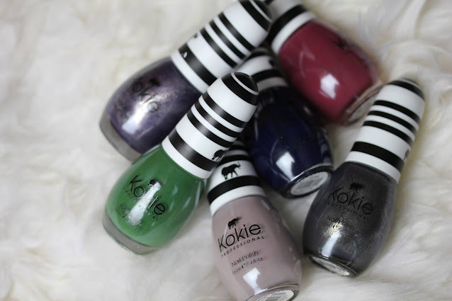 Kokie Cosmetics nail polish review