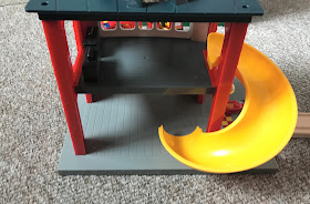 BRIO Playset from the back