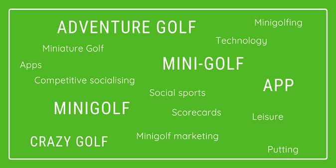 Minigolf scoring and loyalty apps