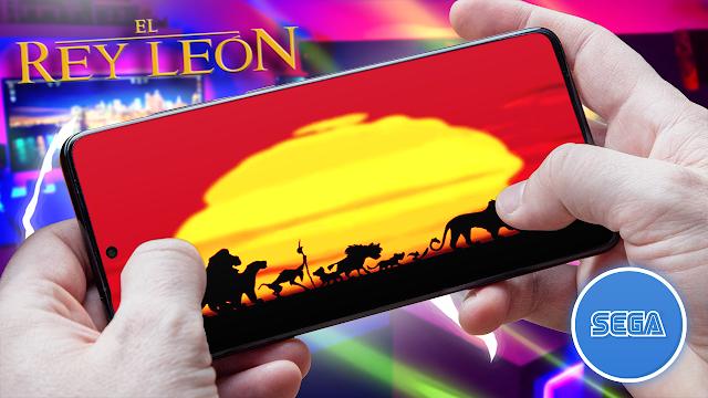 El Rey León Para Teléfonos Android (ROM SEGA)