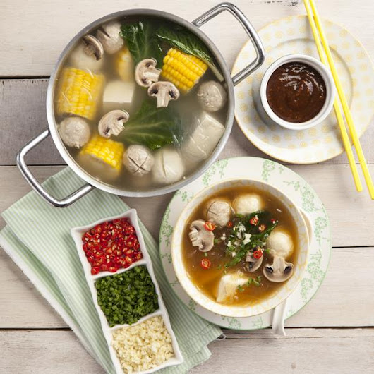 Shabu Shabu with Peanut Sauce Recipe