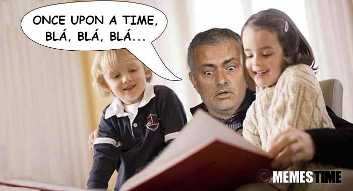 Memes Time… da bola que rola e faz rir - José Mourinho, os Einsteins da bola e os 16 anos de carreira - Once Opon a Time, Blá, Blá, Blá...