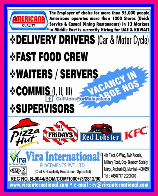 Kuwait job vacancy driver