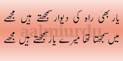 2 line urdu poetry, 2 line hindi and urdu poetry