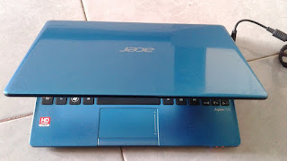 Acer Aspire V5 121 AMD C-70 Blue