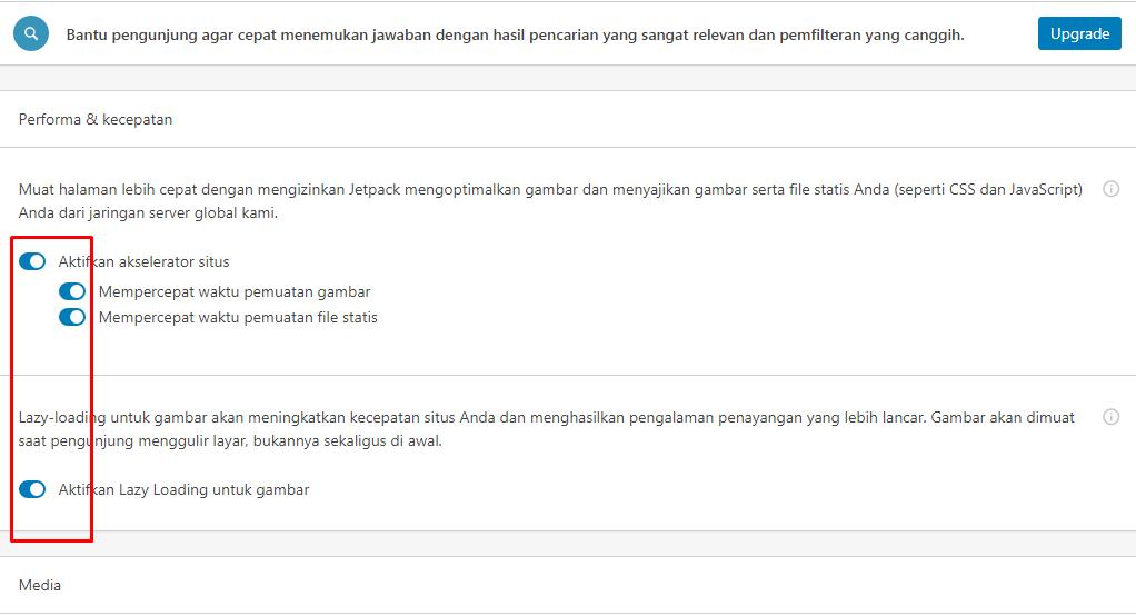 Plugins Tambahan dan Cara Setting untuk mempercepat website