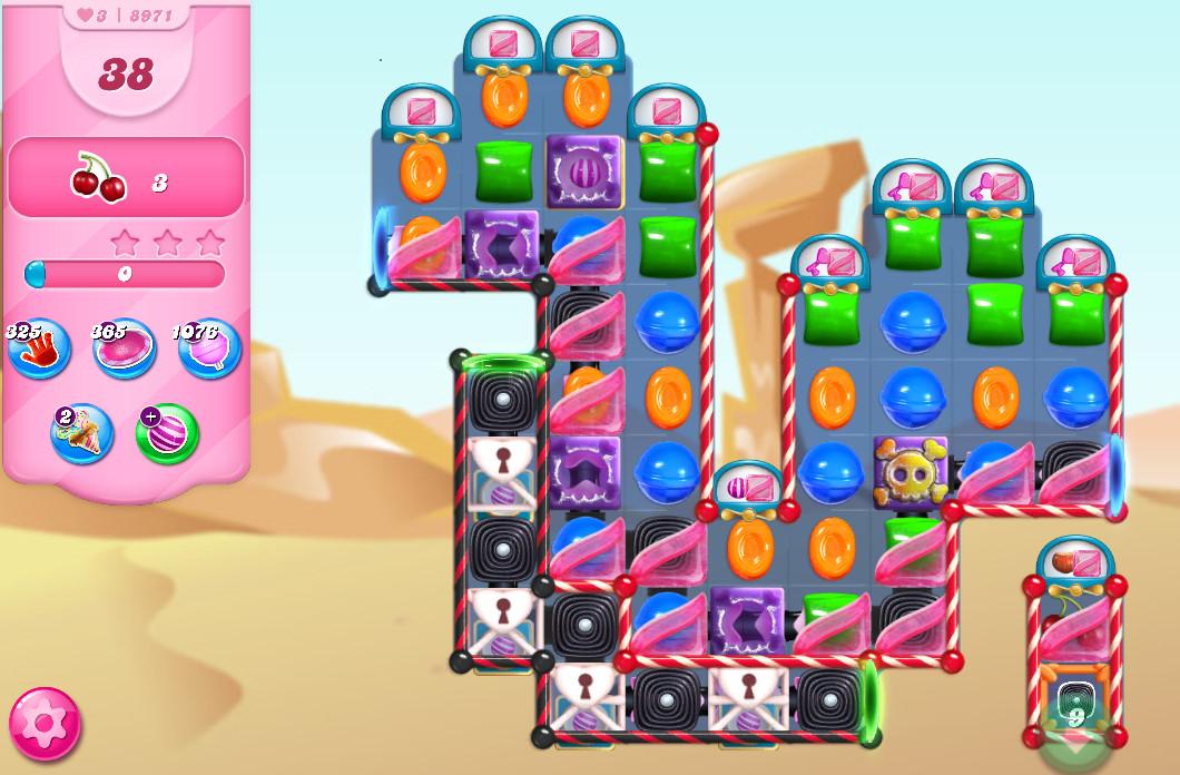 Candy Crush Saga level 8971