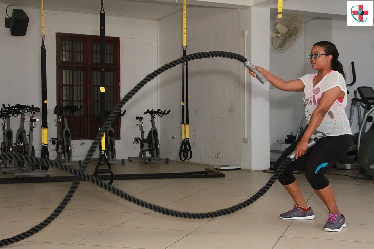 Battle ropes are quickly becoming one of the biggest fitness trends. See why!