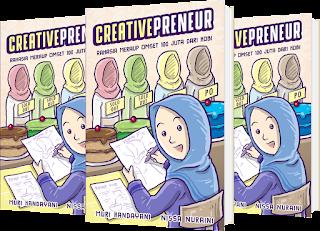 Buku creativepreneur rahasia meraup 100 juta dari hobi