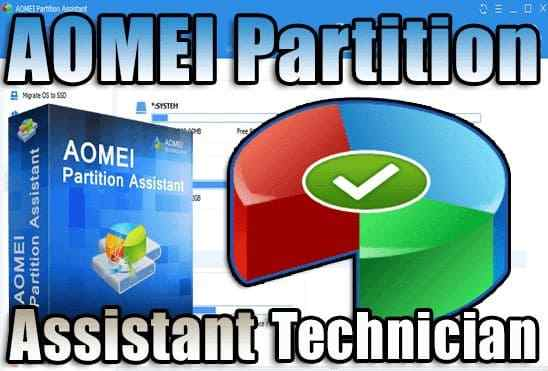 تحميل برنامج AOMEI Partition Assistant Technician اخر اصدار مفعل مدى الحياة
