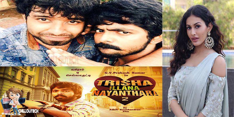 GV Prakash Big budget movie with  actress Amyra Dastur