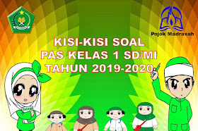 Kisi-kisi Soal PAS/UAS Kelas 1 SD/MI Kurikulum 2013 Tahun 2019-2020