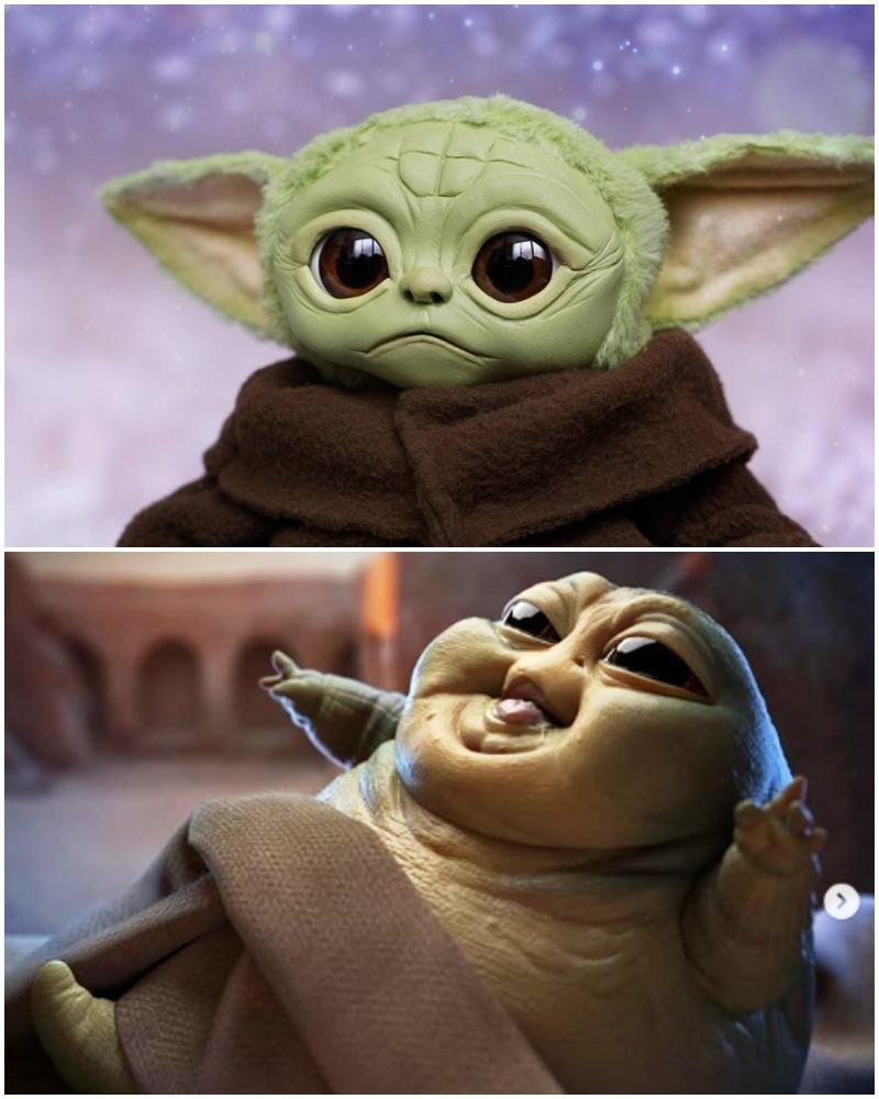 The Mandalorian Baby Yoda Is trending higher on social media
