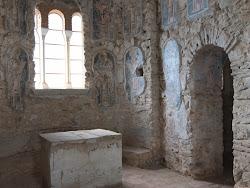 castle medieval inside mystras crusader frankish churches many scribbling edith swan neck margins