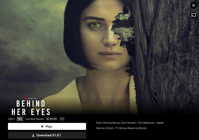 Behind Her Eyey