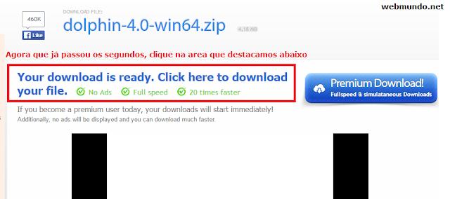 Passo 3 : Como baixar no uploaded