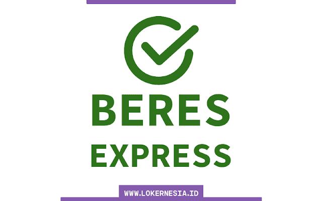 Lowongan Kerja Beres Express Depok September 2021