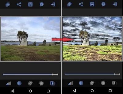 برنامج تصوير HDR فائة الدقة تعديل الصور