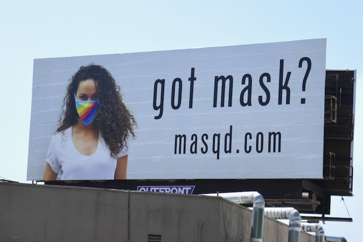 Got mask masqd billboard