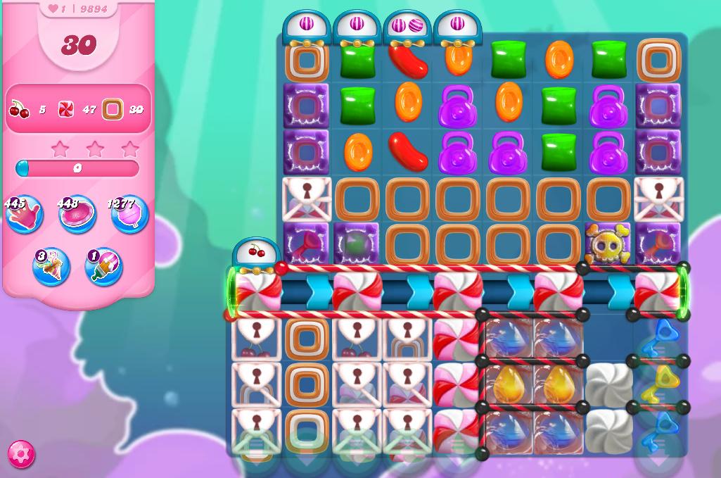 Candy Crush Saga level 9894