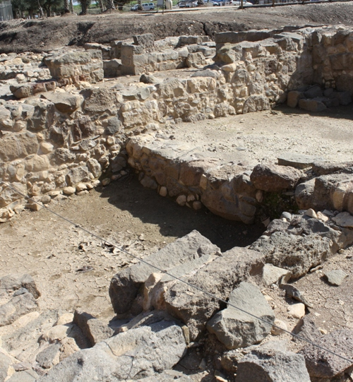 magdala excavated fish shop