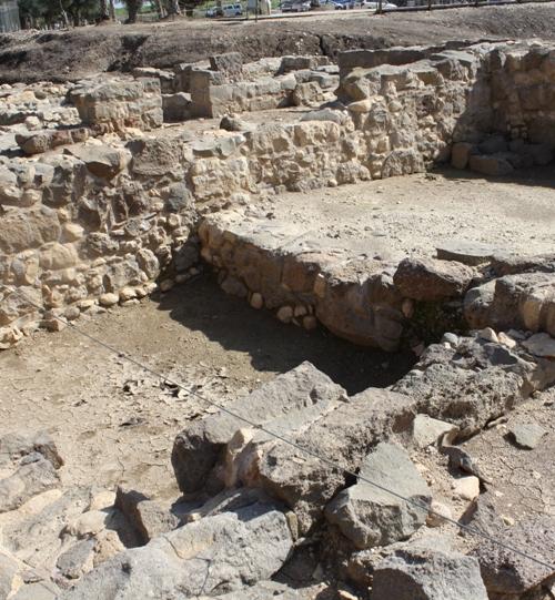 magdala excavated fish shop