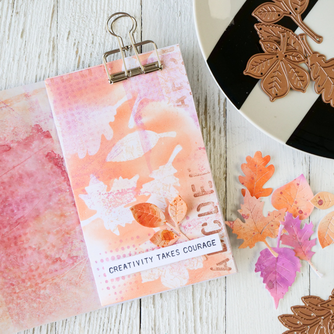 How to Make Gorgeous Autumn Paper Leaves by Jamie Pate
