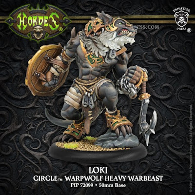 Privateer Press: Hordes Loki, Circle Orboros Heavy Warbeast