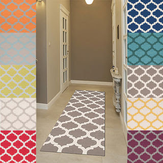 Fresno Runner Area Rugs Hallway Wayfair Brown Blue Green Yellow Red Pattern Diffe Painted Flower Motived