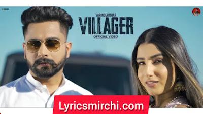 Villagers विलेजर्स Song Lyrics | Varinder Brar | Latest Punjabi Song 2020
