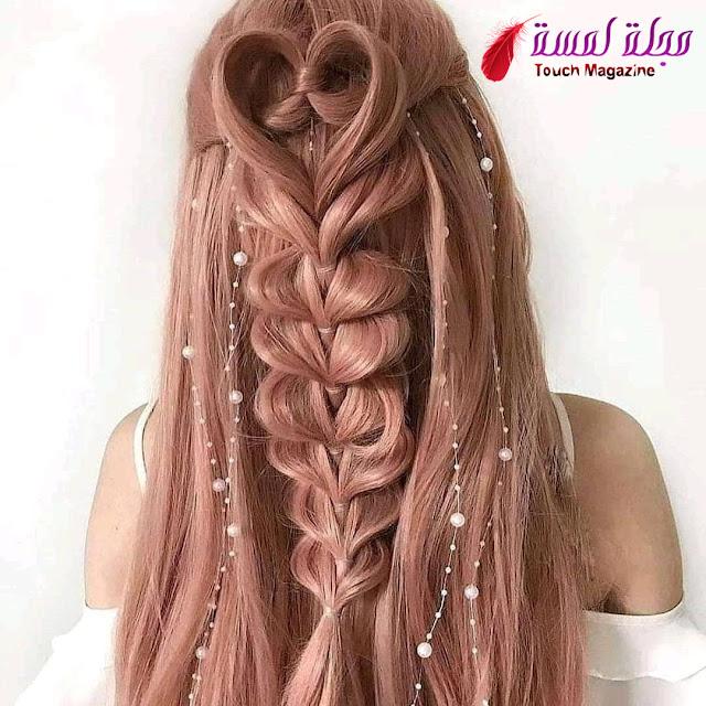 تسريحات الشعر الطويل