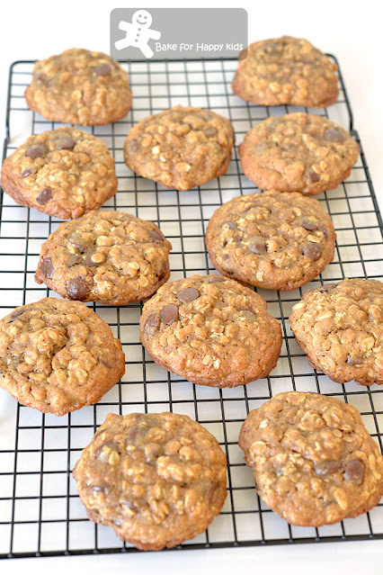oatmeal salted butter chocolate chip cookies