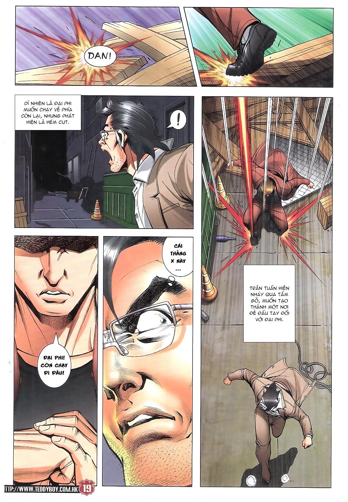 Người Trong Giang Hồ chapter 1801: đại phi tái chiến trần tuấn hiền trang 16