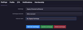 شرح زجنالي بوت Zignaly Bot لتداول العملات الرقمية بكل سهولة