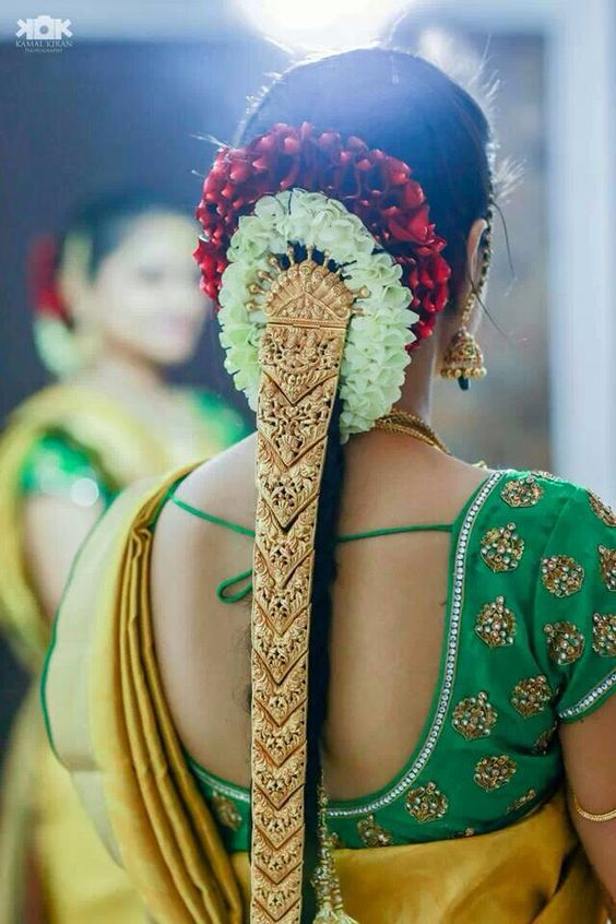 10 Best Hairstyles for Tamil Wedding | Indian Beauty and Lifestyle blog