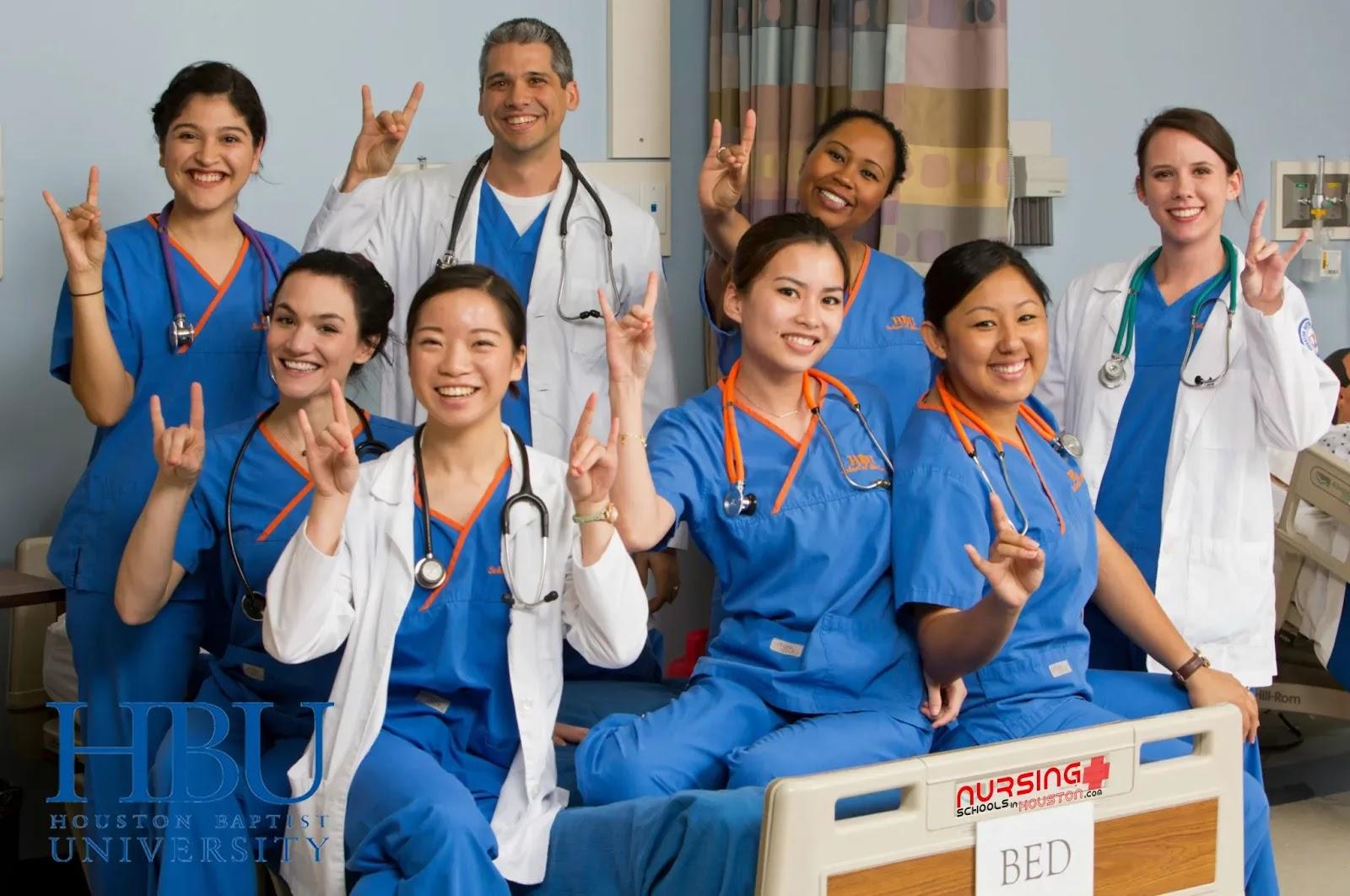 bsn nursing programs at houston baptist university in houston