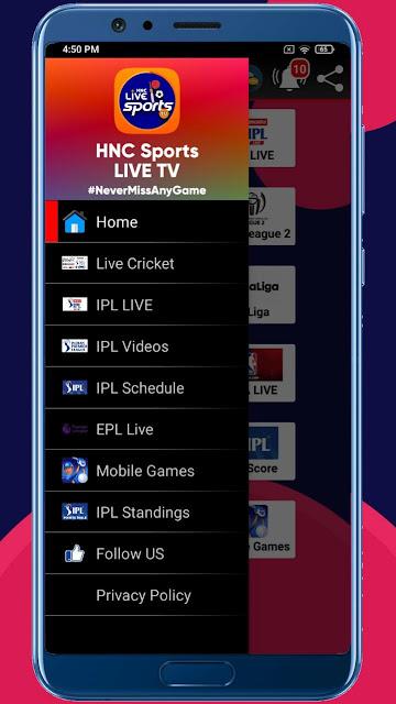 Download HNC Sports Tv APP | HNC Sports Tv Apk Download