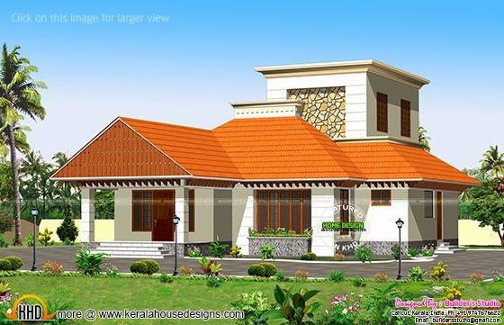 One floor 1600 sq-ft house