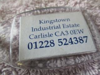 County Motors Group Carlisle Key Fob 2