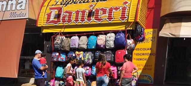 Roncador: Na volta às aulas, materiais escolares é na Papelaria Danieri