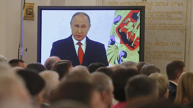 """Putin: """"El diálogo ruso-estadounidense conviene a los intereses de la paz global"""""""