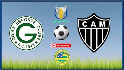 Tentando se manter na Série A, Goiás enfrenta o Atlético-MG brigando pelo titulo