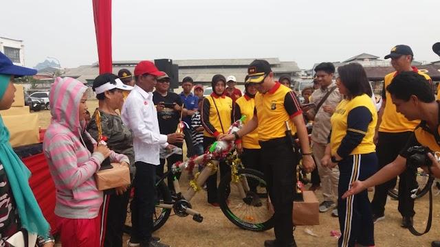 Polres Tanjung Priok Selenggarakan Pesta Rakyat Di HUT RI ke 74