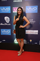 Actress Shraddha Srinath Stills in Black Short Dress at SIIMA Short Film Awards 2017 .COM 0014.JPG